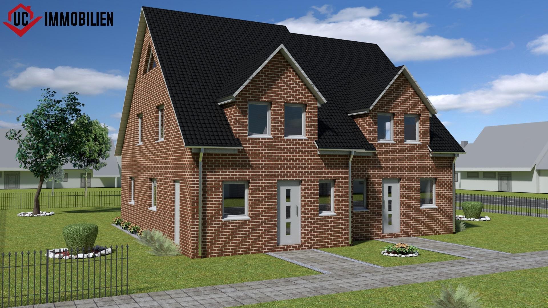 Doppelhaus Außenansicht